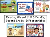 Reading Street Unit 6 Second Grade Bundle--Differentiated