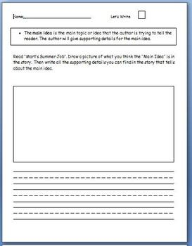 Reading Street Unit 6 Week 1 Workstation Worksheets
