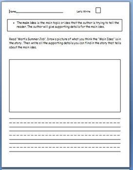 Reading Street Unit 6 Week 1 Workstation Worksheets