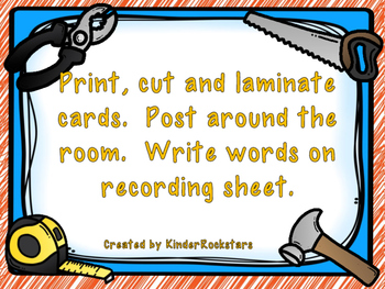 Write the Room Center - Aligned with Reading Street Unit 6 week 2