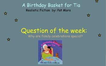 Reading Street Unit 6 Week 3: A Birthday Basket for Tia