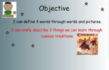 Reading Street Unit 6 Week 4: Cowboys