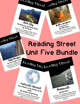 Reading Street Unit Five Bundle