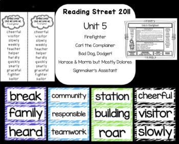 Reading Street  Unit Five Resources Grade 2