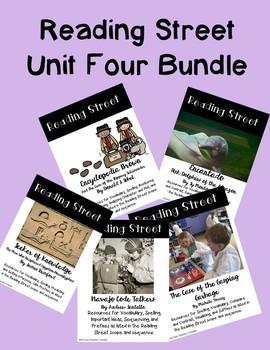 Reading Street Unit Four Bundle