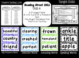 Reading Street  Unit Four Resources