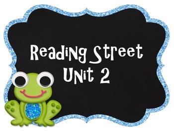 Reading Street Unit Labels