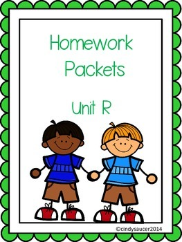Reading Street, Unit R, Homework Packets