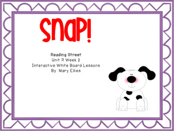 Reading Street Unit R Week 2: Snap!