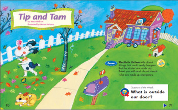 Reading Street Unit R Week 3 Tip and Tam