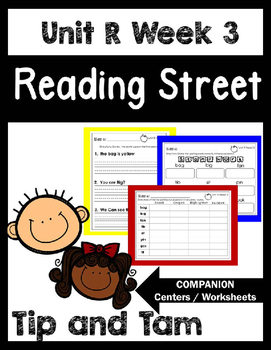 Reading Street. Unit R Week 3. Tip and Tam! Centers/Focus Wall/Handwriting