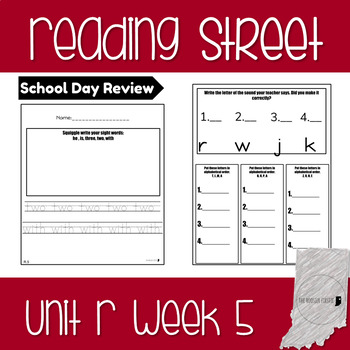 Reading Street Unit R Week 5