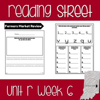 Reading Street Unit R Week 6