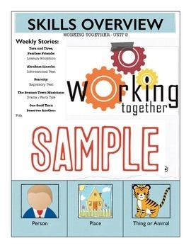 Reading Street Unit Skills Overview BUNDLE