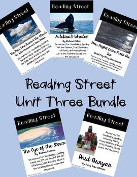 Reading Street Unit Three Bundle