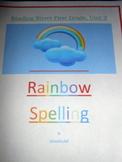 Reading Street Unit Three Rainbow Spelling