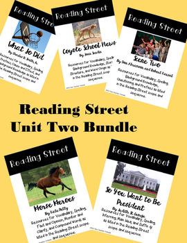 Reading Street Unit Two Bundle