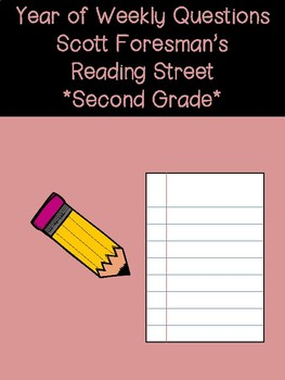 Reading Street Unit and Weekly Questions- 2nd Grade