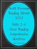 Reading Street Units 1-6 Close Reading Comprehension MEGA BUNDLE! - Grade 3