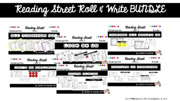 Reading Street Units 1-6 Roll & Write