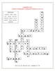 Reading Street Vocabulary Crossword