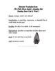 Reading Street Vocabulary Definitions - 5th Grade - Unit 6