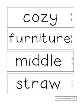 Reading Street Vocabulary Grade 1
