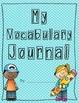 Reading Street Vocabulary Journal - 2013 Edition - Grade 3