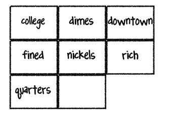 Reading Street Vocabulary Matching Game- Theme 1 Alexander...