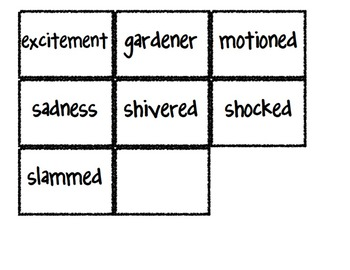 Reading Street Vocabulary Matching Game- Theme 2 Bundle- All 5 Weeks!