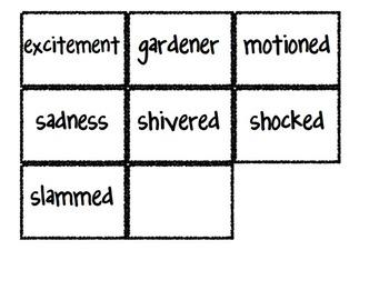 Reading Street Vocabulary Matching Game- Theme 2 Bundle- A