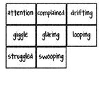 Reading Street Vocabulary Matching Game- Theme 4 Bundle- A