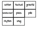 Reading Street Vocabulary Matching Game- Theme 5 Bundle- A