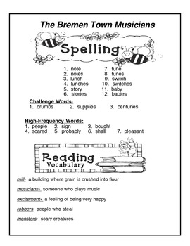 Reading Street Vocabulary Unit 2