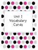Reading Street Vocabulary Units 1-6 BUNDLE