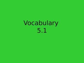 Reading Street Vocabulary flipchart 5.1 Tippy Toe Chick Go