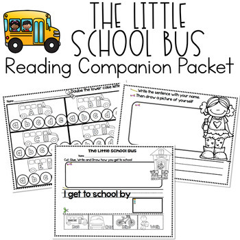 RS SideKick Week 1 Little Bus Packet {Compatible with Reading Street}