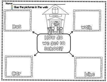 The Little School Bus Companion Packet