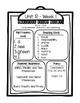 Reading Street Weekly Focus Organizers - First Grade