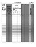 Reading Street Weekly Grade Sheet Example