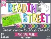Reading Street Weekly Homework Flip Book: Animal Park