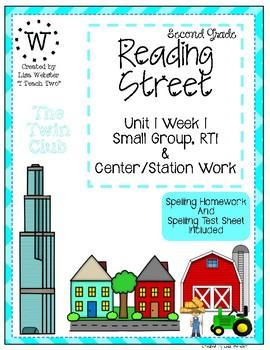 Reading Street Weekly Work Unit 1 Week 1 The Twin Club