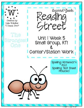 Reading Street Weekly Work Unit 1 Week 5 The Strongest One