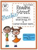 Reading Street Weekly Work Unit 3 Week 1