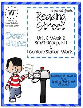 Reading Street Weekly Work Unit 3 Week 2 Dear Juno