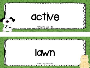 "Reading Street  Word Cards FREEBIE  ""Tip and Tam"""