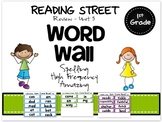 Reading Street Word Wall-1st Grade-Colorful