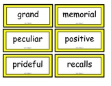 Reading Street Word Wall Cards Unit 1