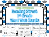 Reading Street Word Wall Cards for 1st Grade All 5 Units