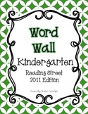 Reading Street Word Wall: Kindergarten {BASIC COLORS}